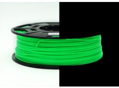 3D Drucker ABS 3.00 mm Printer Filament Spule Trommel Patrone Glow in dark Grün