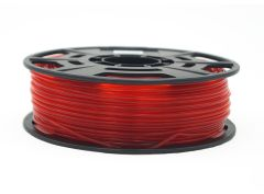 3D Drucker PLA 3.00 mm Printer Filament Spule Trommel Patrone Transparent Rot