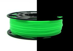 3D Drucker ABS 1.75 mm Printer Filament Spule Trommel Patrone Glow in dark Grün