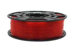 3D Drucker ABS 1.75 mm Printer Filament Spule Trommel Patrone Transparent Rot