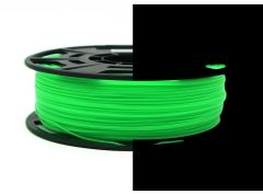 3D Drucker PLA 1.75 mm Printer Filament Spule Trommel Patrone Glow in dark Grün