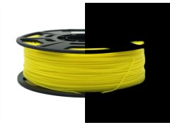 3D Drucker PLA 1.75 mm Printer Filament Spule Trommel Patrone Glow in dark Gelb