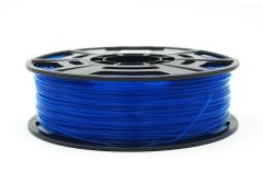3D Drucker PLA 1.75 mm Printer Filament Spule Trommel Patrone Transparent Blau