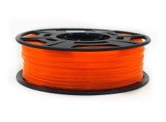 3D Drucker PLA 1.75 mm Printer Filament Spule Trommel Patrone Transparent Orange