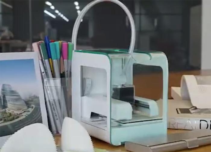 Pocket Maker: Mini-3D-Drucker mit weniger als 1kg Gewicht