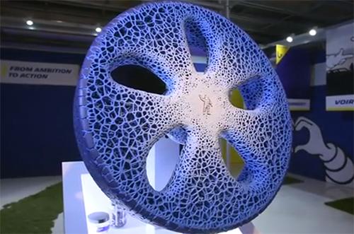 Räder aus dem 3D-Druck, die nicht platzen