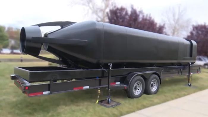 US-Marine druckt U-Boot Prototyp